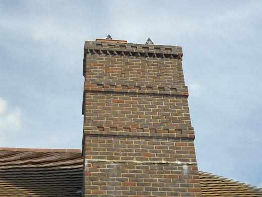 Tonbridge Brick Chimneys