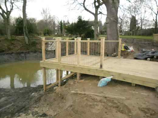 Tonbridge Lake Decking Kent