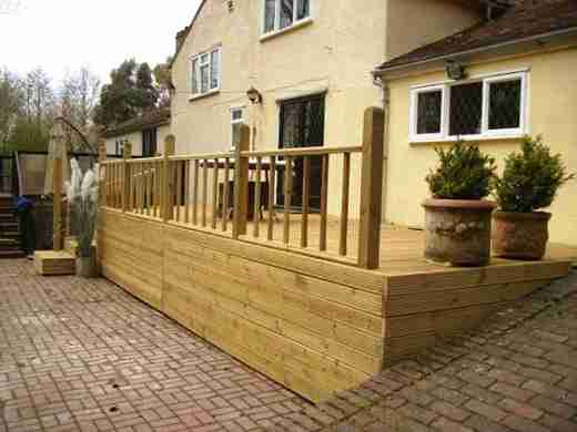 Tonbridge Garden Decking Kent