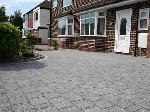 Tonbridge Drive Pavers Kent